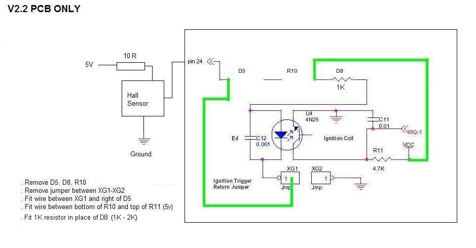 hall effect distributor wiring diagram on