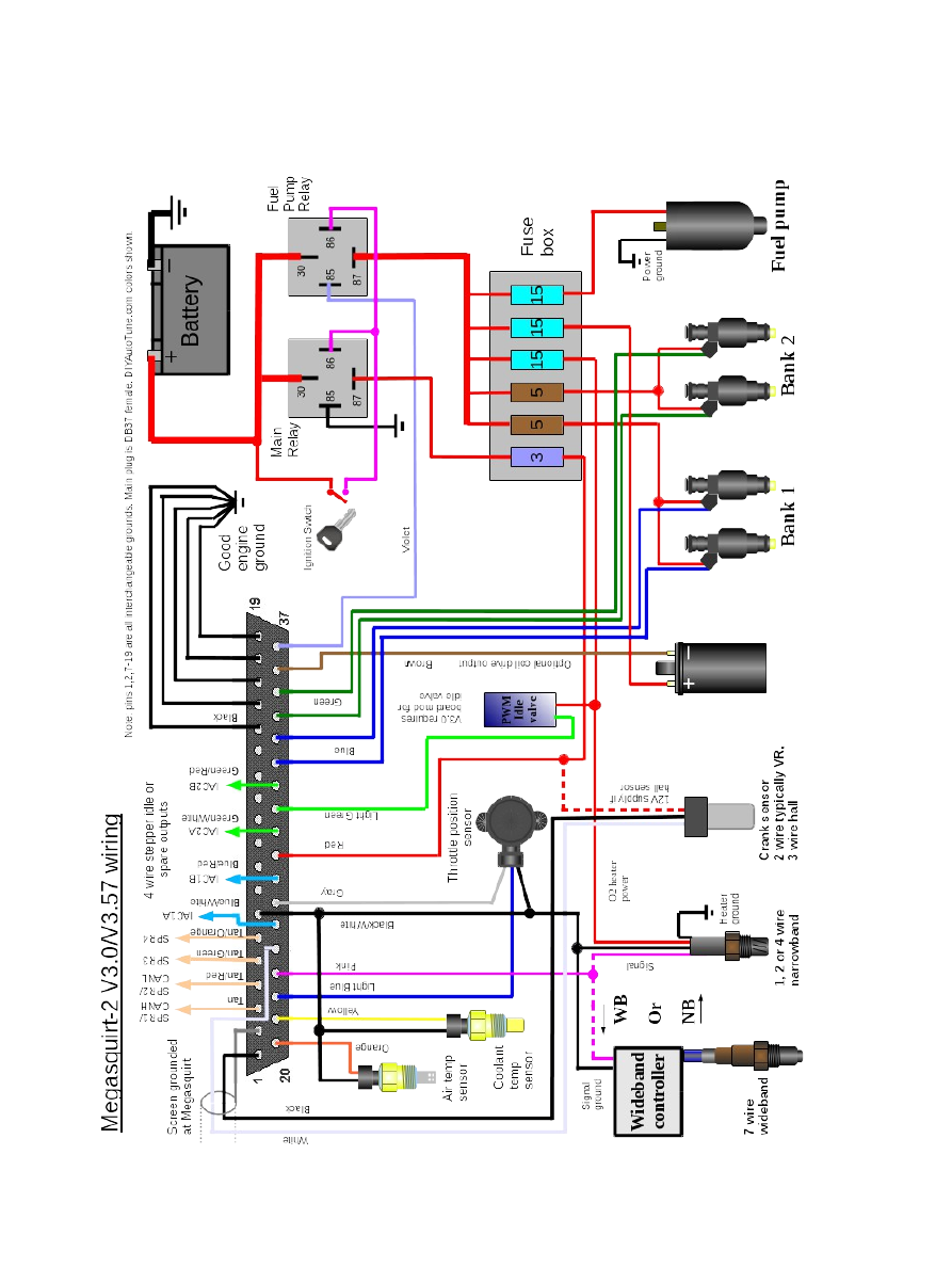 Ls1 Megasquirt 2 Wiring Schematic Explore Diagram On The Net Lt1 Harness Ms2v357 Hardware 3 4 Page 14 Bcm