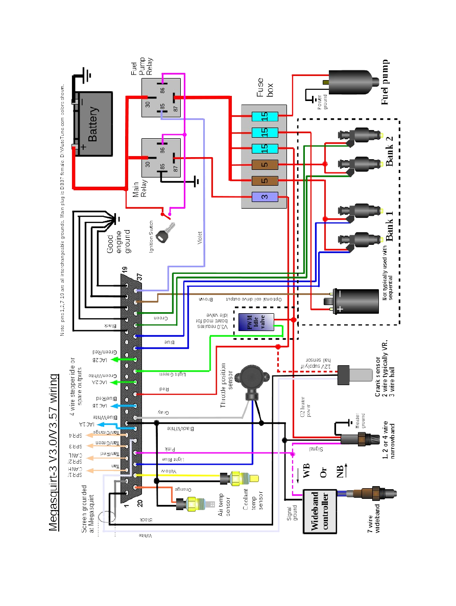Ms2 Wiring Diagram Library 280zx M S2 Megasquirt How Tos Archive Sixthspherecom Saturn Enthusiasts