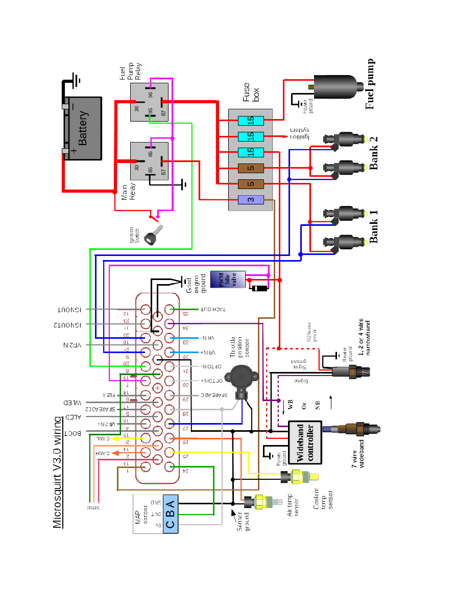 Megasquirt Support Forum  Msextra   U2022 Wiring Diagram  View