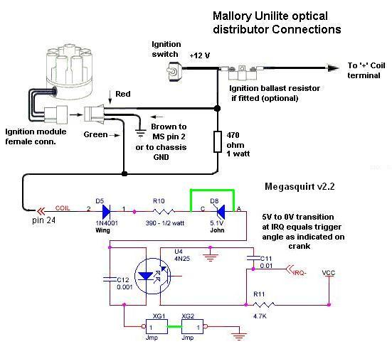 Mallory Marine Distributors Wiring Diagrams on